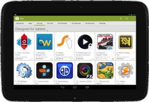 Google Play tablet-apps nu makkelijker vindbaar