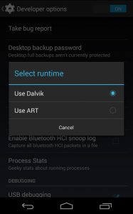 Android 5.0 dalvik art
