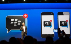 BlackBerry baas: 'Voorlopig geen overstap op Android'