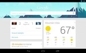 Google Zoeken Galaxy tab