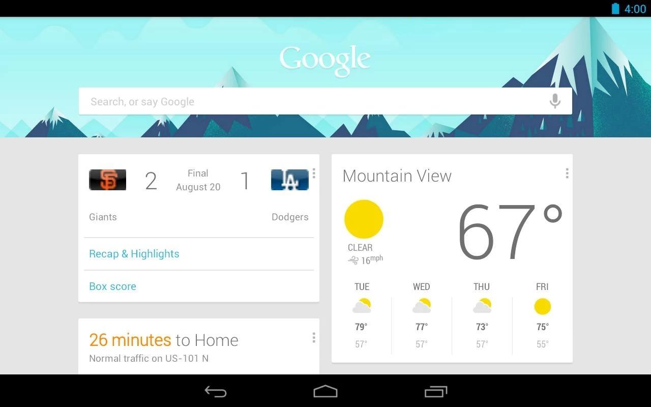 Google Zoeken-app levert problemen op bij Galaxy Tab-toestellen – update