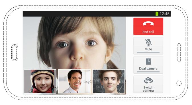 'Galaxy S5 krijgt ondersteuning voor conference call'