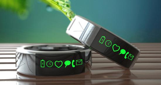 Smarty Ring: multifunctionele ring houdt je op de hoogte van notificaties