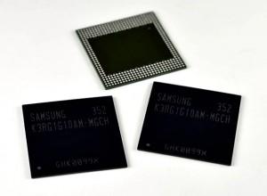 'Galaxy S5 werkgeheugen: nieuwe 4GB LPDDR4-RAM van Samsung'
