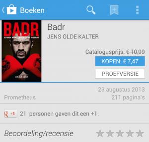 Badr Hari e-book