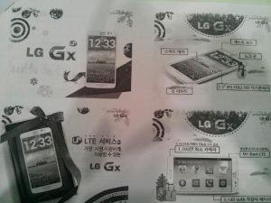 LG Gx uitgelekt