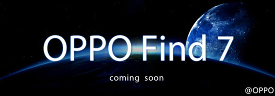 Oppo Find 7 release