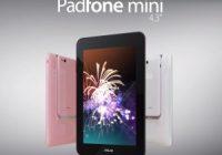 Asus PadFone Mini onthuld, verschijnt binnenkort in Europa