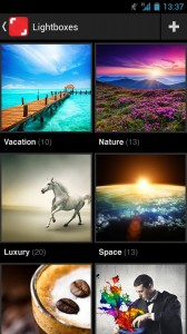 Shutterstock Android-app