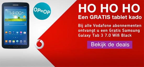 Alleen dit weekend: Gratis Galaxy Tab 3 Lite bij elk Vodafone abonnement (advertorial)