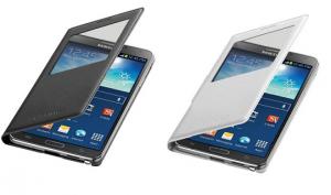 Nieuwe Galaxy Note 3 S-View Flip Cover laat toestel draadloos opladen