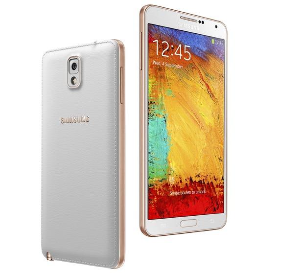 Galaxy Note 3 Rose Gold-editie gelanceerd, phablet met gouden randje