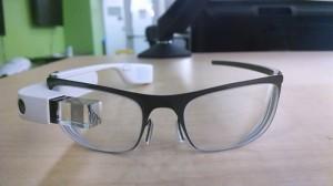 Google Glass met glazen op sterkte