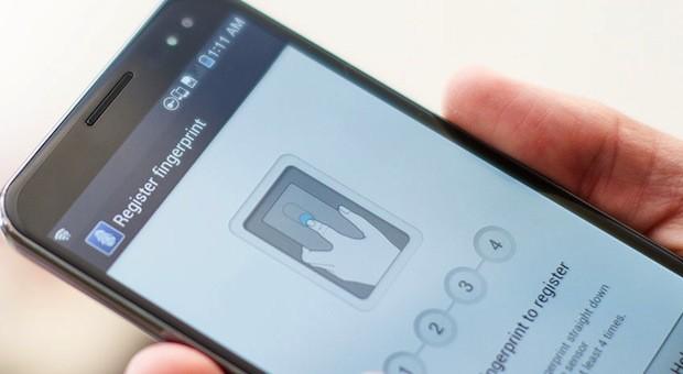 'Samsung vingerafdrukscanner vanaf volgend jaar in toestellen'