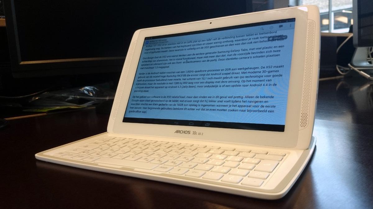 Archos 101 XS2 Review: budgettablet met keyboarddock stelt teleur