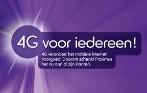 Belgacom 4G tijdelijk gratis voor alle klanten