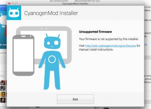 CyanogenMod Installer ontvangt ondersteuning voor Mac