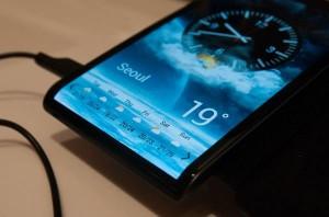 Galaxy Note 4 wordt mogelijk voorzien van driezijdig scherm