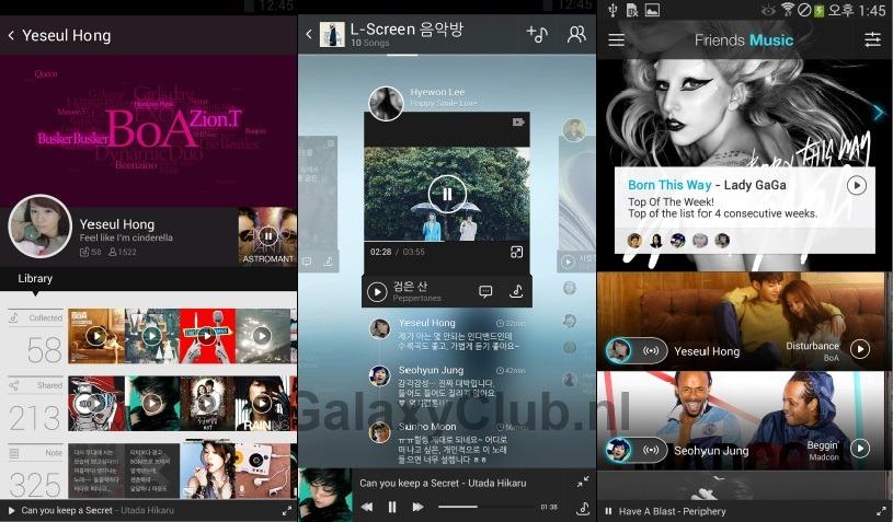 Galaxy S5 bediening 2