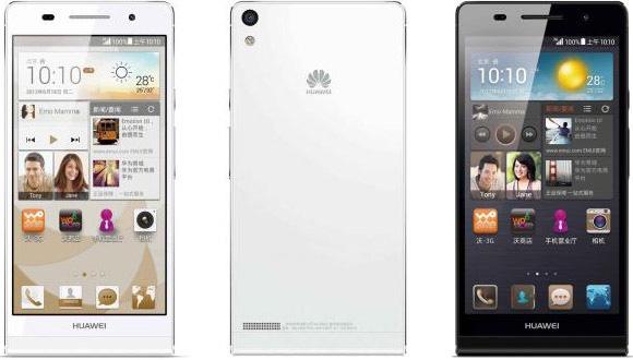 Huawei kondigt dikkere, maar licht verbeterde Ascend P6S aan