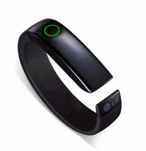 LG introduceert Lifeband Touch, een slimme fitnesstracker met oled-scherm