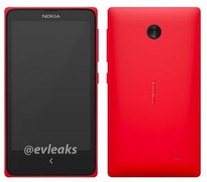 Nokia X is Nokia Normandy, de Android-telefoon van het Finse bedrijf