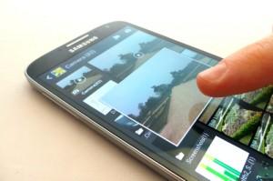 'Galaxy S5 en Note 4 krijgen verbeterde Air View en Air Gesture'