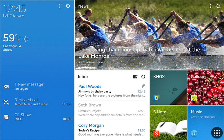 'Samsungs Magazine UX strookt niet met Googles visie op Android'