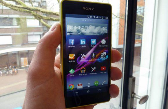 Sony Xperia Z1 Compact Review: veel smartphone in een compacte behuizing