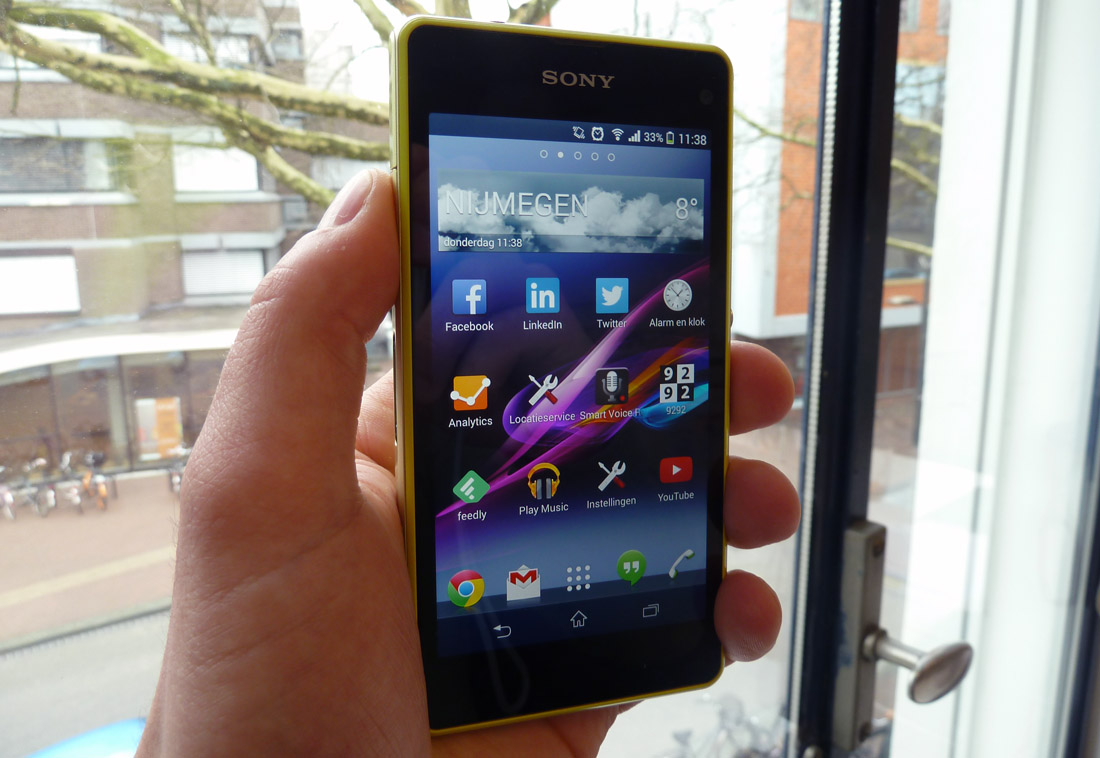 Sony Xperia Z1 Compact review 2