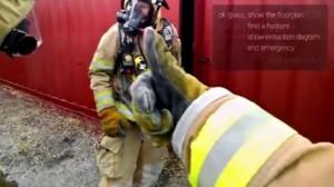 Brandweerman maakt brandweer-app voor Google Glass