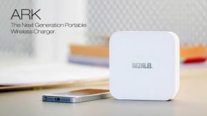 ARK: draagbare oplader om je smartphone draadloos mee op te laden