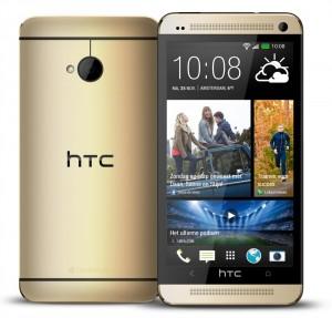 Goudkleurige HTC One vanaf nu exclusief verkrijgbaar bij Vodafone
