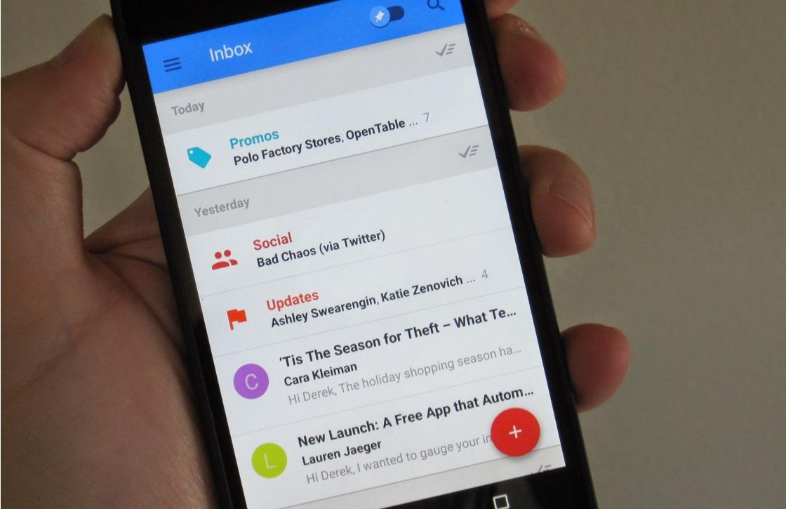 Download: nieuwe Inbox by Gmail laat je notificaties aanpassen