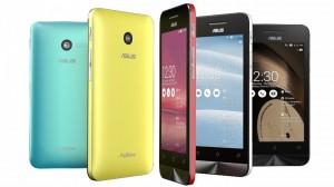 Asus komt met Zenfone 4 van 99 dollar en laptop met Android en Windows