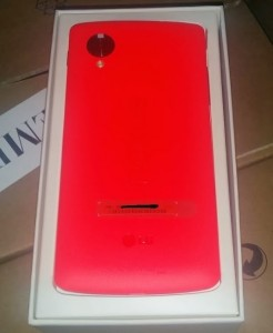 'Rode Nexus 5 op 4 februari geïntroduceerd'