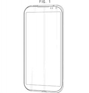 Samsung krijgt patent op nieuw knoppenloos design