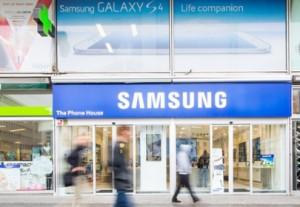 Eerste Samsung winkels binnenkort geopend in Nederland
