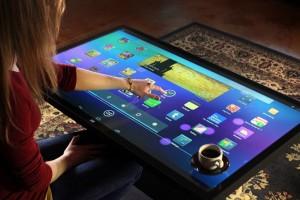 Geld over? Speel Angry Birds op een gigantische Android-koffietafel