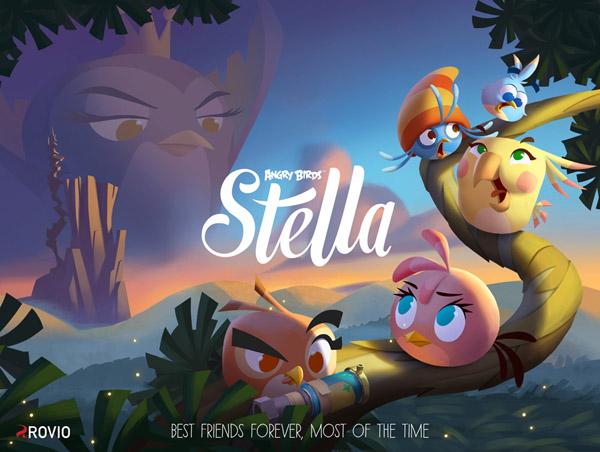 Terugkeer boze vogels: Angry Birds Stella verschijnt deze herfst