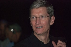 Apple-baas Tim Cook