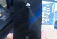 Huawei Ascend P7 en MediaPad X1 laten zich zien in uitgelekte foto's