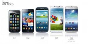 'Randloos scherm met vingerafdrukscanner voor Galaxy S5'