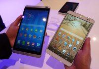Hands-on MediaPad X1 en MediaPad M1: lichte en snelle middenklassers