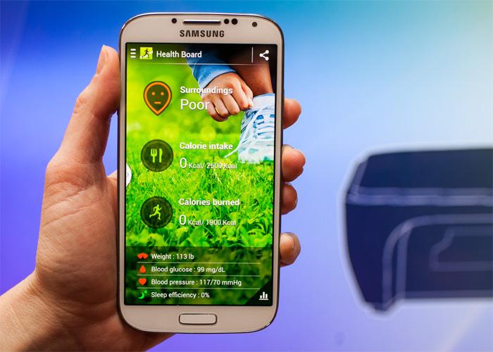 Samsung S Health screenshots tonen vernieuwd en platter design