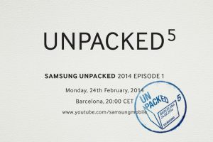 Unpacked Event Galaxy S5
