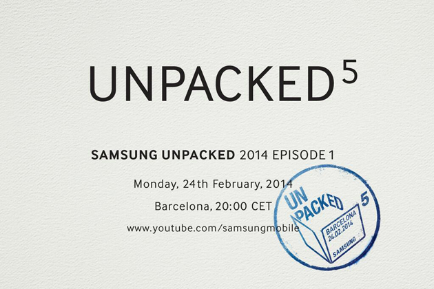 'Samsung onthult Galaxy S5 tijdens Unpacked Event op 24 februari'