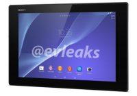 'Dunne Xperia Tablet Z2 voor het eerst te zien in uitgelekte foto'