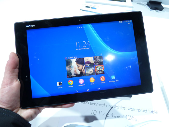Hands-on Xperia Z2 Tablet: superdunne Sony-tablet nader bekeken