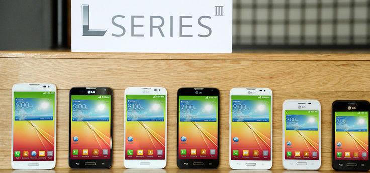 LG onthult drie nieuwe low-budget smartphones met Android KitKat
